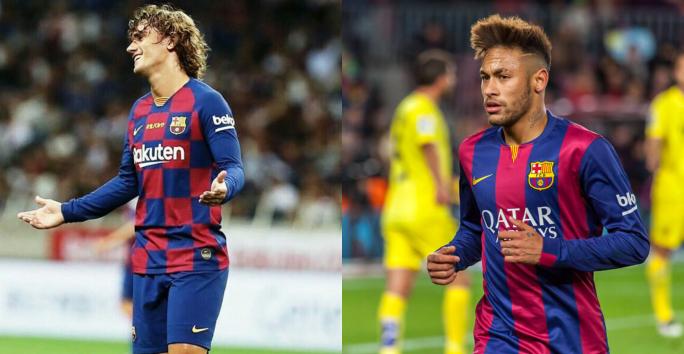 Antoine Griezmann et Neymar Jr au Barça